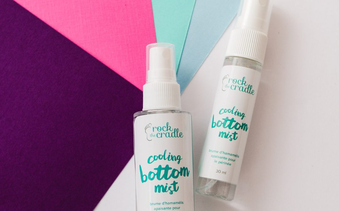 Rock the Cradle's Perineum Spray: Cooling Bottom Mist